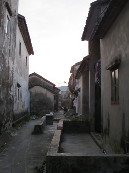 People lived here, making it more of a fortress town than a fortress.