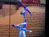 Then we were in France where we were treated to Russian acrobats? Huh?