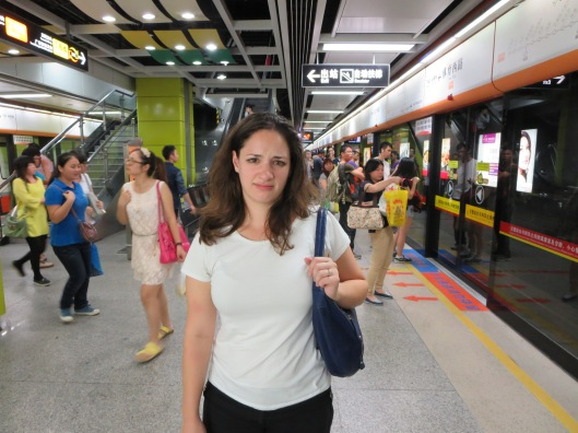 Guangzhou can be stressful, even for Adrianna