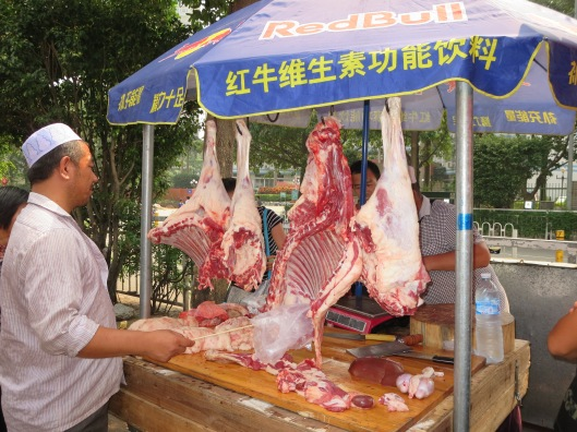 Freshly butchered lamb, anyone?