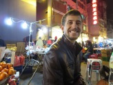 Sitting in the Jade Market.