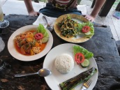 Tasty Indonesian cuisine.