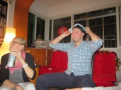 Matt in multiple hats