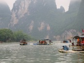 The Great Lijiang River Fleet!