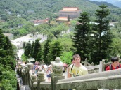 We then climbed the stairs to the Big Buddha!