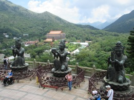 Some of the sights from the Big Buddha are more awesome than others.