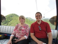 Susan is more skeptical of the cable car than Sutton
