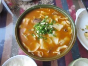 Yak meat stew with noodles